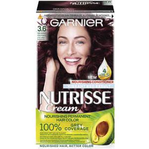 Garnier Nutrisse Cream 3.6 Red Dark Brown